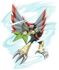 Tengu Beast - Characters & Art - Mega Man Battle Network 6