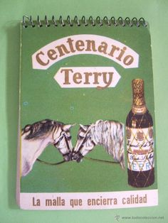 LIBRETA PARA APUNTES DE CAMARERO - PUBLICIDAD CENTENARIO TERRY - Foto 1 Centenario, Retro Vintage, Waiting Staff, Direct Sales, Advertising, Pictures