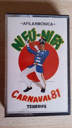Cassette Carnaval año 1981. Afilarmónica Nifú Nifá