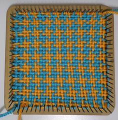 Houndstooth pattern on Loomette