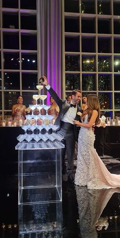 Champagne Tower, Most Beautiful Gardens, Wedding Mood Board, Wedding Receptions, The Perfect Touch, 50th Birthday, Towers, Moonlight, Dream Wedding