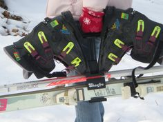 80's Ski Gear: What you need to look Rad. Ski Tote!