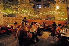 When you want to eat outside: 16 Awesome Restaurant Patios and Gardens in NYC 2013