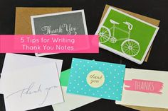 Cupcake Wishes & Birthday Dreams: {Gratititude} 5 Tips to Writing Thank You Notes