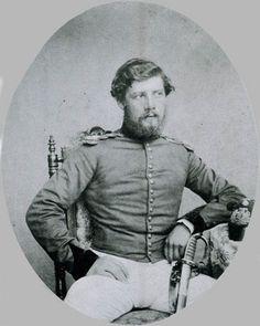 Lieutenant Harry North Dalrymple Prendergast VC, Madras Engineers, 1860 (c)