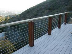 Stainless Steel Cable Rails - WebRiggingSupply