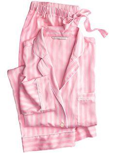 The Afterhours Satin Pajama - Victoria's Secret XS SHORT