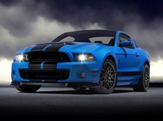 Photographs of the 2013 Shelby Mustang Coupe. An image gallery of the 2013 Shelby Mustang Ford Mustang Shelby Gt500, 2014 Ford Mustang, Ford Mustangs, Shelby Gt500 2015, Shelby Gt 500, Ford Shelby, Mustang Cars, Blue Mustang, Supercars