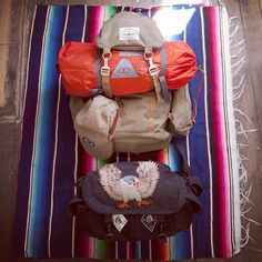 Poler Rucksack and tent ready for an adventure.   #poler #polerstuff #campvibes