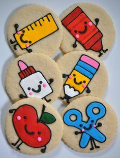 """Des cookies """"rentrée scolaire"""". Appétissant, non?"""