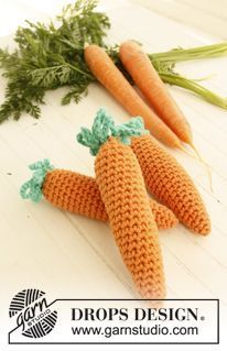 "Berrylicious / DROPS Children 23-59 - Morango DROPS em croché, em ""Paris"". - Free pattern by DROPS Design"