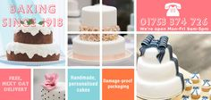New Cakes - Personalised Cakes To Order With Free UK Delivery