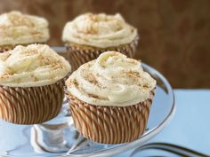 Chai latte cupcakes - they look absolutely delectable!
