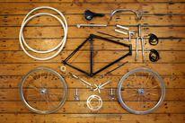 自転車分解