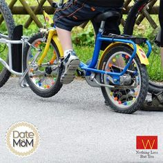 Your very first fun cycle ride was all thanks to her. Make sure you make her feel super awesome this Mother's Day. #DateWithMom