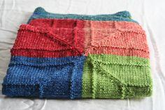 Ravelry: Four Corners Baby Blanket pattern by Rina Shaikh-Lesko