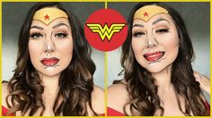 In this week& video, I show you how to create this Pop Art Wonder Woman Makeup look! Leave me a comment down below with your thoughts on this video and what. Wonder Woman Makeup, Pop Art, Makeup Looks, Eye Makeup, Halloween Face Makeup, Phoenix, Makeup Tutorials, Eyes, Youtube