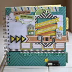Create a mini book using the Cinch. #wermemorykeepers #cinchtool #minialbums