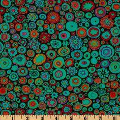 Kaffe Fassett Paperweight Jewel - Discount Designer Fabric - Fabric.com
