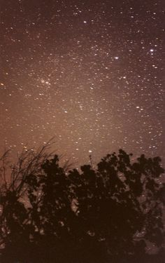 sleep under the stars- just earth and body and sky and soul. happily gazing back