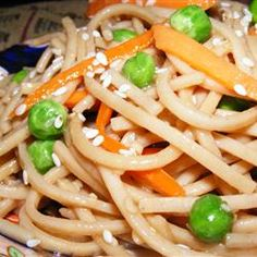 Oriental Cold Noodle Salad Recipe