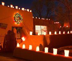 Taos - So beautiful at Christmas!