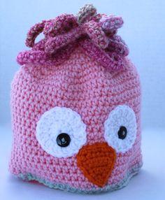 Crochet Hat  Childrens Animal Hat  Owl Hat  by SnugableTouches