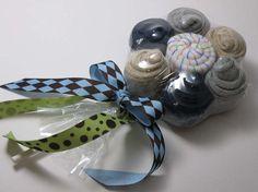 Baby Blooms Flower(TM) - Socks and Washcloth Set