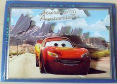 carte 3D CARS anniversaire