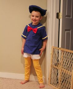 Donald Duck Costume! by kid_md, via Flickr