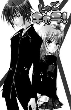 shugo chara!!! Ikuto tsukiyomi and amu hinamori
