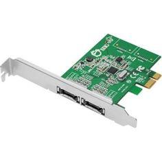 Dual Profile PCI Express 2-Port eSATA 6Gb/s Host Adapter