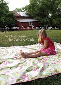 Sewing Secrets: Summer Picnic Blanket Tutorial