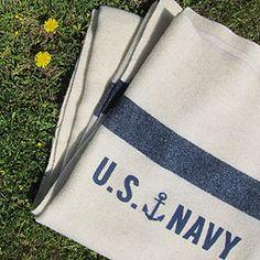 Fairbault woolen mills throws - New U. Navy blanket, produced by Fairbault Woolen Mills for Three Potato Four. Navy Sister, Navy Girlfriend, Navy Mom, Navy Wife, Patriot Guard Riders, Uss Tarawa, I Miss My Boyfriend, Us Sailors, Proud Of My Son
