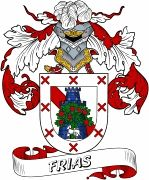 De Frias Spanish Coat Of Arms www.4crests.com #coatofarms #familycrest #familycrests #coatsofarms #heraldry #family #genealogy #familyreunion #names #history #medieval #codeofarms #familyshield #shield #crest #clan #badge #tattoo #crests #reunion #surname #genealogy #spain #spanish #shield #code #coat #of #arms
