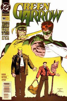 Michael Netzer Marvel Comics | Green Arrow Vol 2 96 - DC Comics Database
