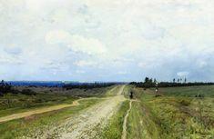 Исаак Левитан - Владимирка 1892