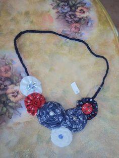 Necklace, perferct with jeans. Crochet Necklace, Jeans, Jewelry, Fashion, Moda, Jewlery, Jewerly, Fashion Styles, Schmuck