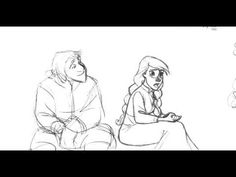 """Super early animation tests for frozen. """"Anna test"""""""