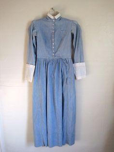 turn of the century antique 1900s 1890s edwardian nurse uniform