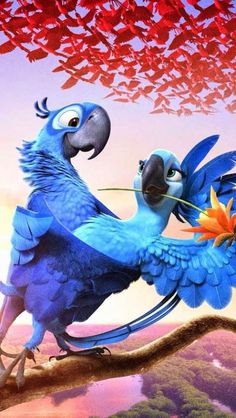 Birds happier than me Rio Film, Rio Movie, Disney Art, Disney Movies, Disney Pixar, Cute Cartoon Wallpapers, Movie Wallpapers, Disney Phone Wallpaper, Iphone Wallpaper