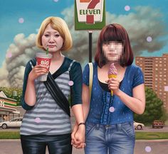 Art-Sheep Features: Alex Gross Comments on Society's Obsession with A…