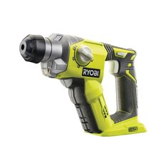 Hammer Hard! Ryobi 18V SDS+ Rotary (Pneumatic) Hammer Drill, perfect for hard hitting jobs like removing tiles, debris and demolishing small projects!