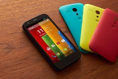 Moto G é o smartphone mais buscado na internet por consumidores brasileiros