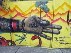Street art in São Paulo. Brazil.