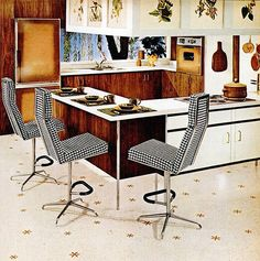 This week I thought I'd continue my visual history of mid-century interior design and focus on the early The swinging 1960s Interior, Mid-century Interior, Interior Design Kitchen, Interior Modern, Midcentury Modern, Interior Decorating, Mid Century Decor, Mid Century House, Mid Century Furniture