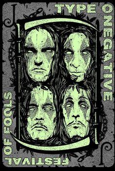 Peter Steele, Type O Negative, Green Man, Cool Art, Awesome Art, Tumblr, Fallout, Art Ideas, Bands