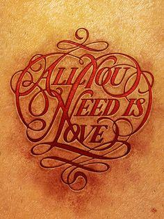 pinterest.com/fra411 #typography #lettering Always Love