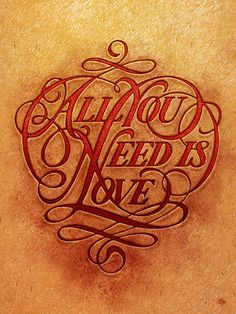 pinterest.com/fra411 #typography #lettering Always Love