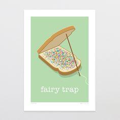 Great for a kids room. Glen Jones, Fairy Trap